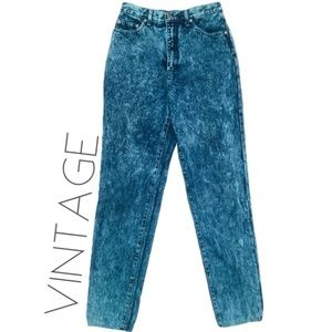 3/$50 Vintage 90s Bleu high rise wedgie jeans 8 29